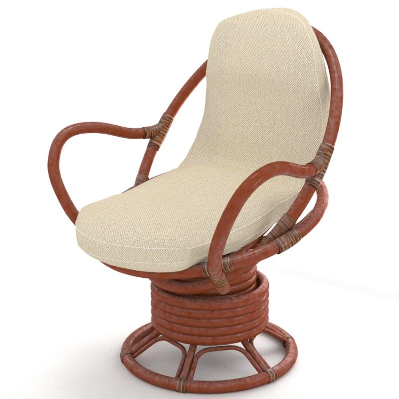 3D rattan furniture wicker