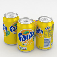 beverage fanta lemon 330ml model
