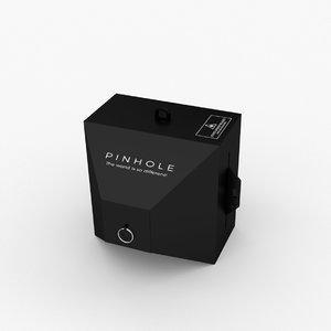 pinhole photo camera model