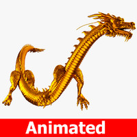 chinese dragon 3D