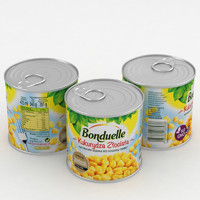 bonduelle corn 425g 3D model