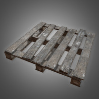 Old Wooden Pallet 2 - PBR Game Ready