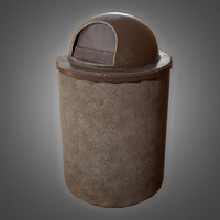 trash bin 2 - model