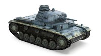panzer tank 3D model