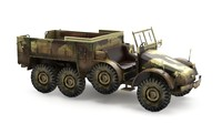 german kfz 3D model