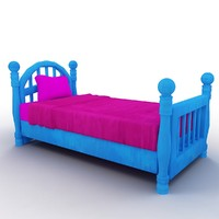 Cartoon Bed