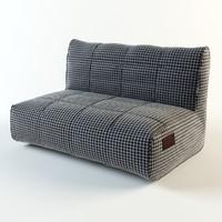 sofa villiers 3D model