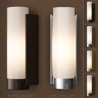 3D powell sconce model