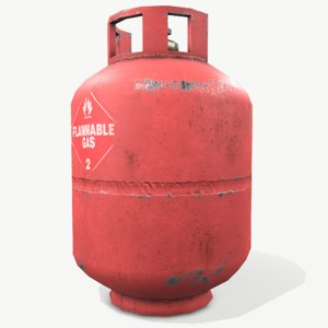 propane gas tank model