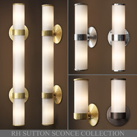 3D sutton sconce