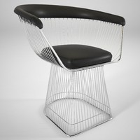 warren platner dining chair 3D model