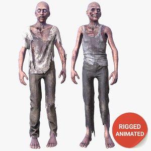 ready zombie 3D