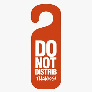 3D distrib sign model