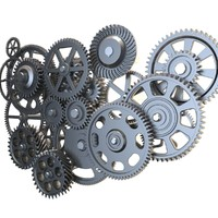 Gear mechanism set