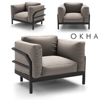 chair okha 3D model