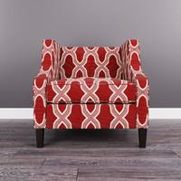 3D sansimeon stone chair model