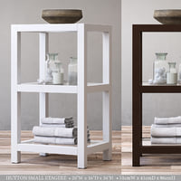 RH HUTTON SMALL ETAGERE