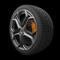 Lamborghini Aventador Rim