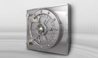 vault bank safe 3D model