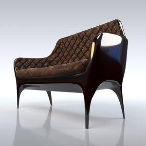 3D model showtime sofa - jaime