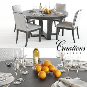 curations limited turin table 3D
