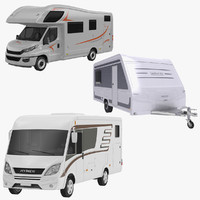 hymer ml recreational 3D