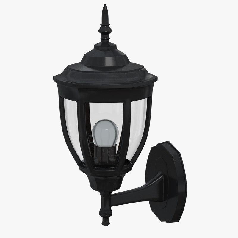 outdoor light 3D model