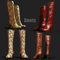 3D boots