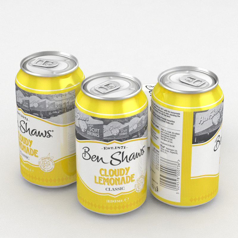 3D beverage ben shawn cloudy