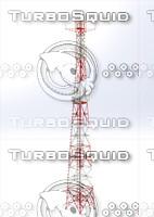 steel tower 3D model