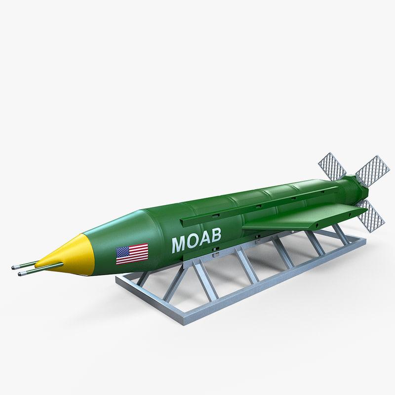 massive ordance air blast 3D model