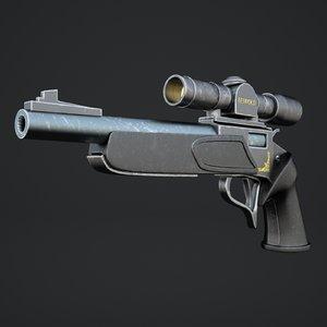 pistol optical sight model