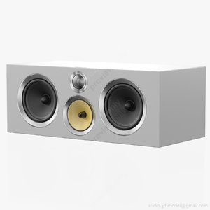 central bowers wilkins cm 3D model