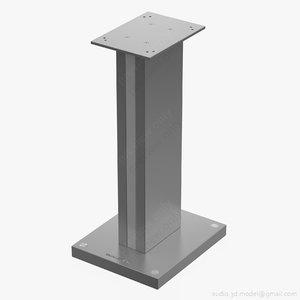 speaker bowers wilkins fs 3D model