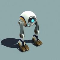 3D r1gg robot character model