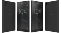 sony xperia l1 black 3D model