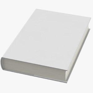 3D hardback book