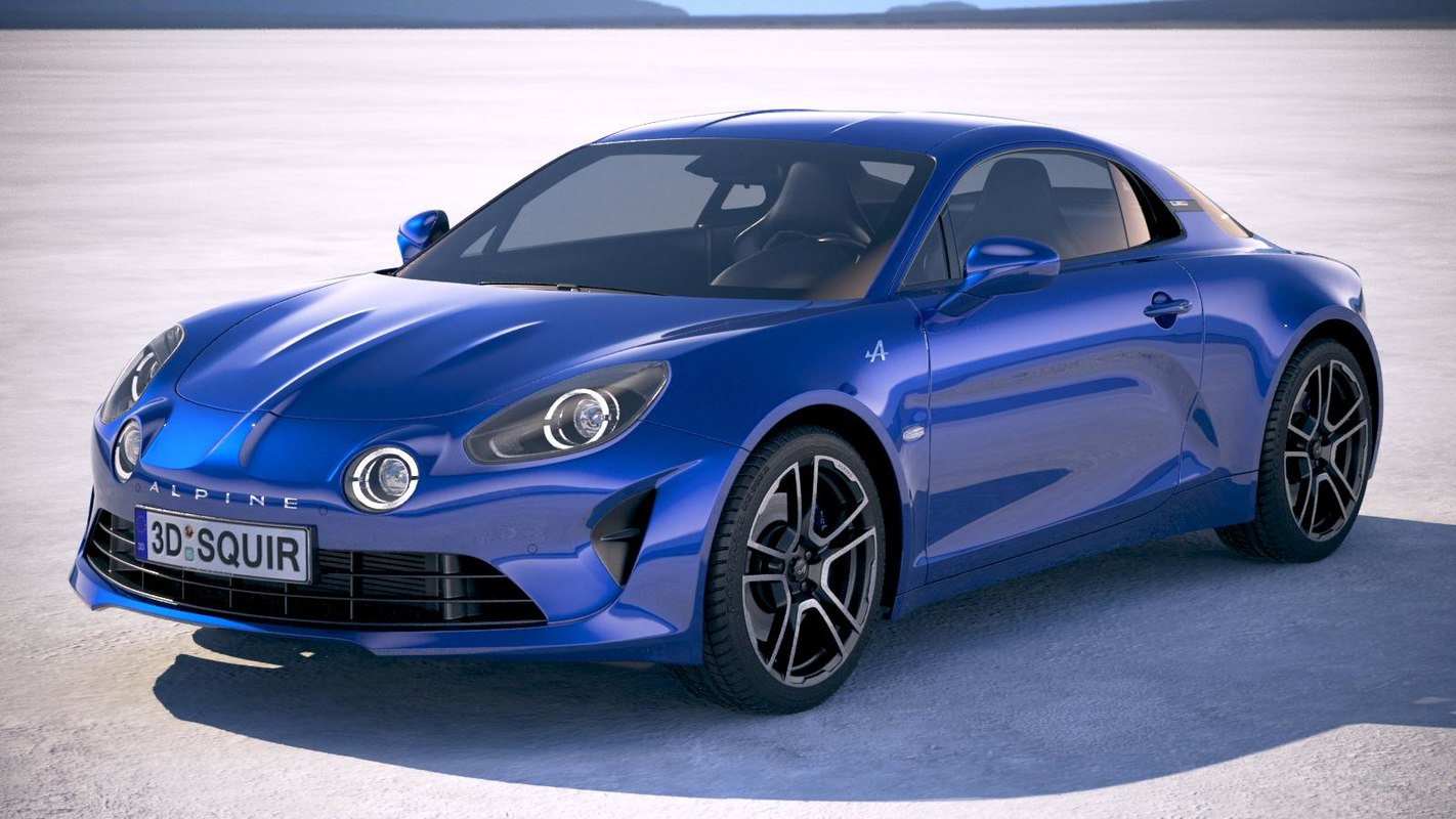 3d Alpine A110 2018 Model 1148559 Turbosquid