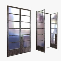 door open custom crittal 3D model