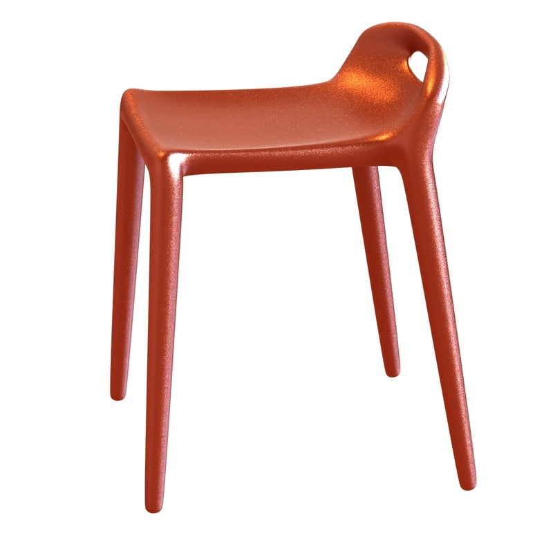stack yuyu stool 3D model