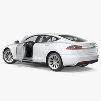 Tesla Model S 60D 2017 Rigged