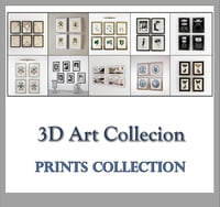 eichholtz prints collected 3D model
