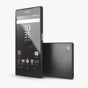 sony xperia z5 black model