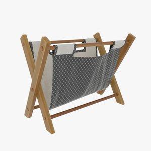 folding bag 3D model