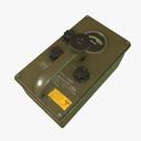Radiation Detector Dosimeter 3D models