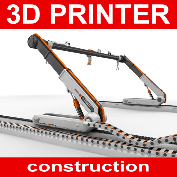 3D construction printer