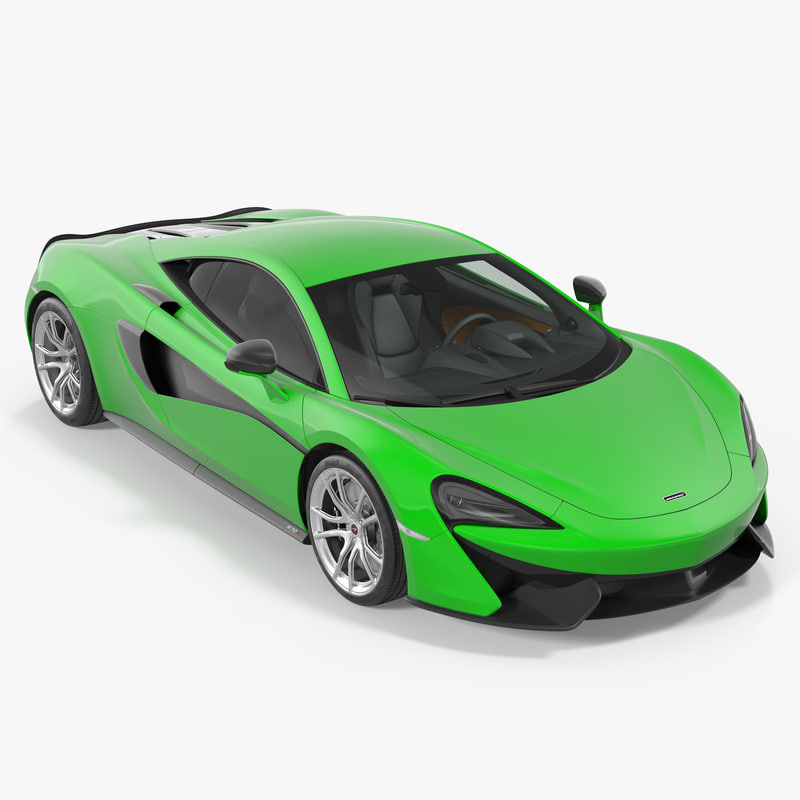 mclaren 570s coupe simple 3D