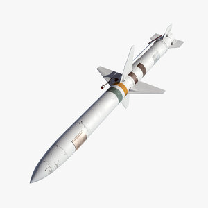 3D missile agm-45 shrike