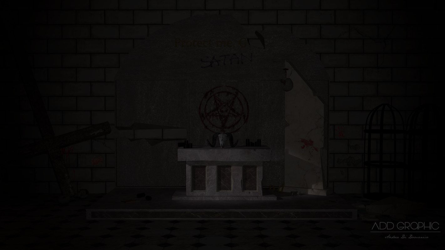 3D satanic place