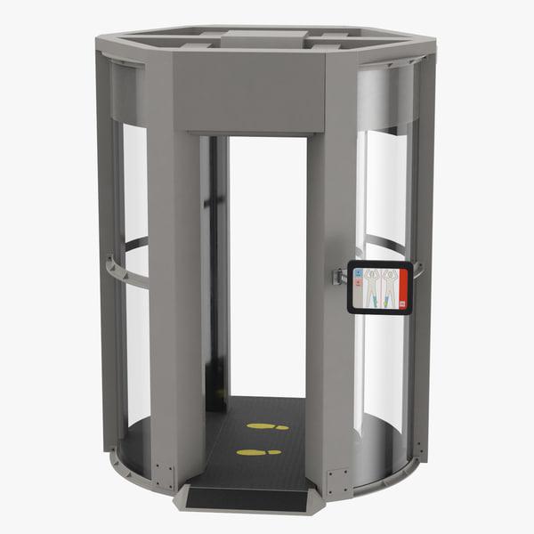 3D x-ray body